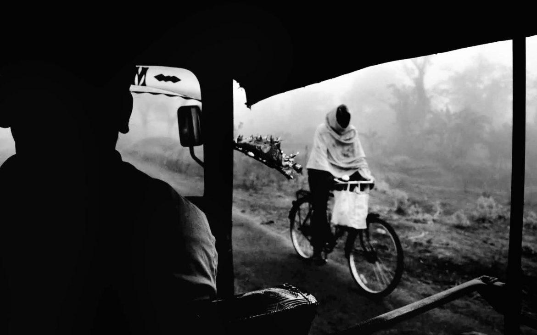cyclist by Sandeep S